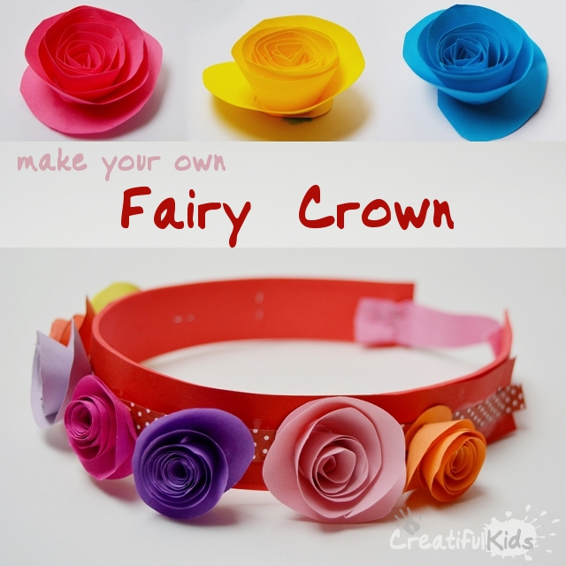 How to Make Your Own Flower Crown Making Fairy Flower Crowns For