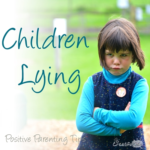 How to manage children lying? Positive parenting tips ...